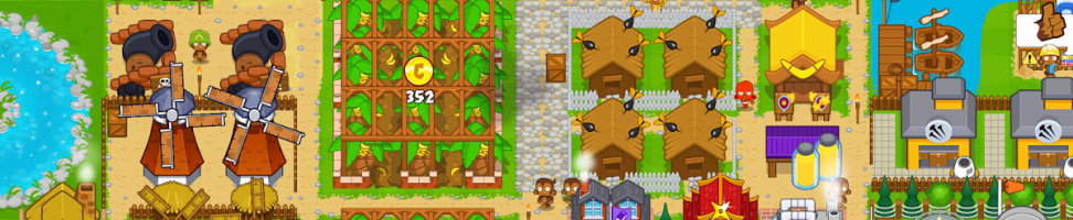 Jeu Bloons Monkey City