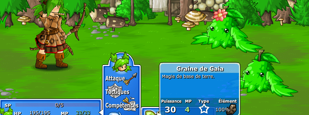 Jouer au jeu Epic Battle Fantasy 4