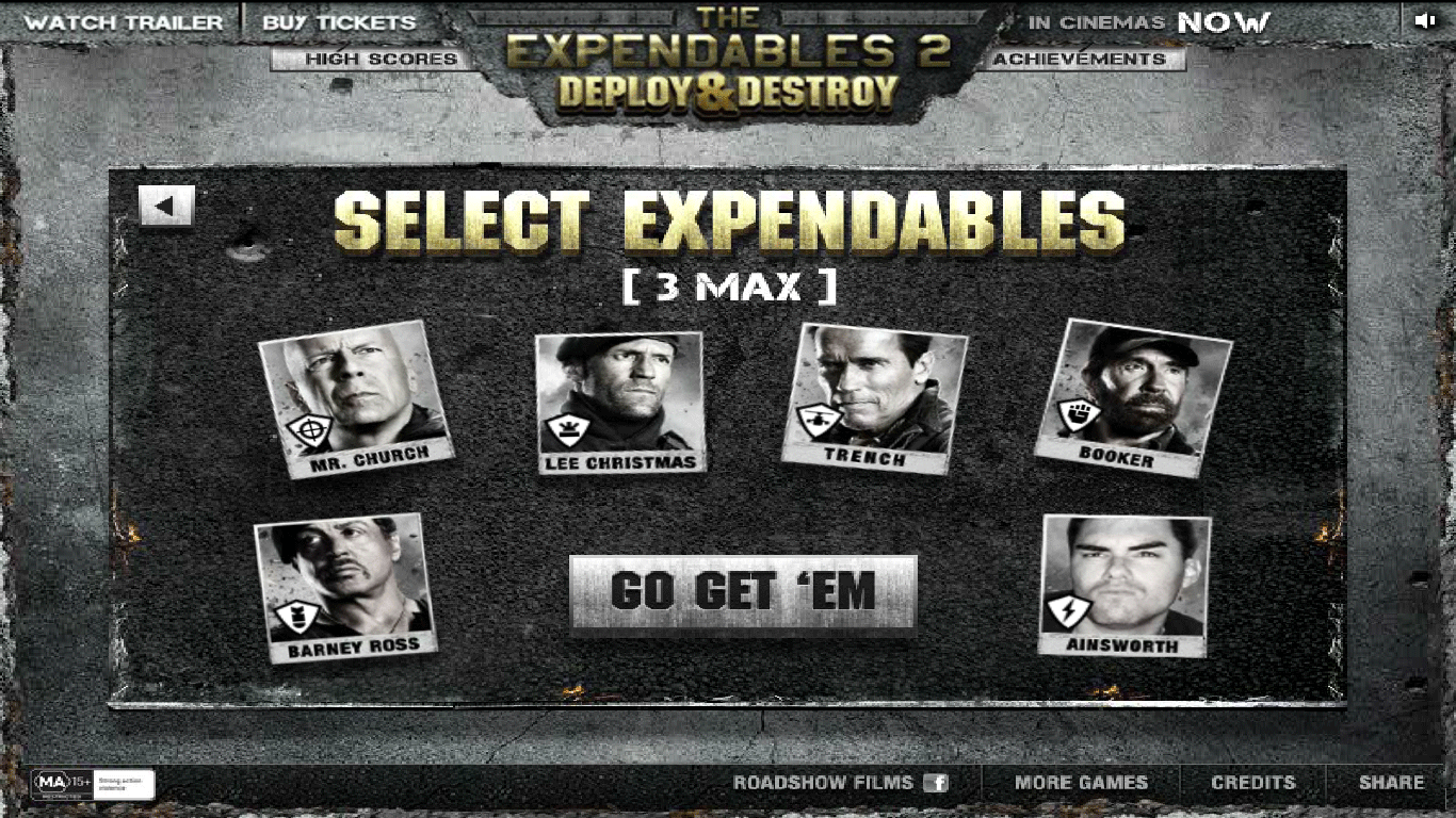 Expendables 2 Tower Défense : mode Endless