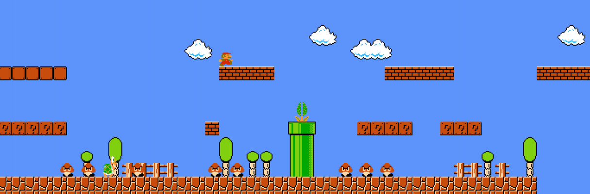 Jouer au jeu Full Screen Mario