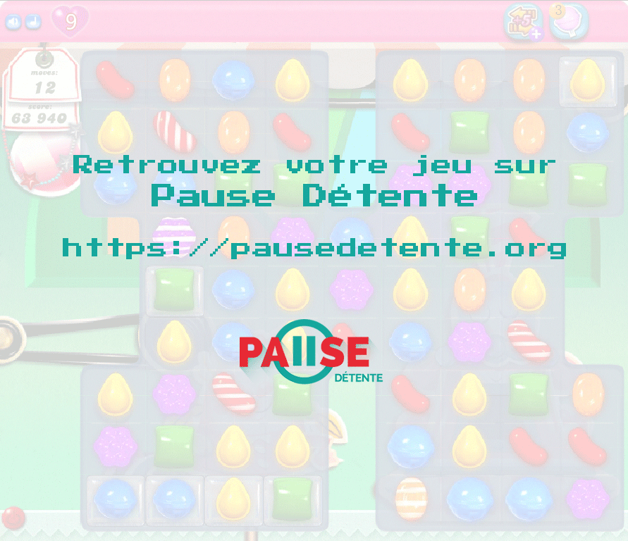 Candy Crush Saga Full Version sur Pause Détente