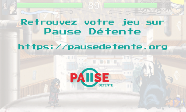 Naruto Flash Battle sur Pause Détente